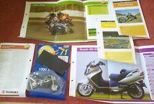 MEGA  BIKES  MAISTO MODEL SUZUKI 1000 STREET BIKE,COLLECTORS  FILE INFO ISSUE 71