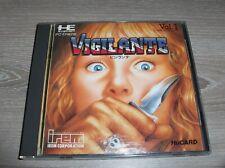 PC ENGINE - HUCARD - VIGILANTE