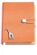 Giraffe  Notebook Notepad Wildlife Spotter Jotter Recorder Ideal  Nature Gift A6