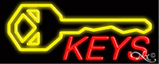 Brand New Keys 32x13 Withlogo Real Neon Sign Withcustom Options 10084