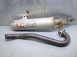 Honda trx450r pro circuit full exhaust muffler header head pipe 04/05 trx 450r