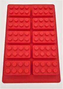 Disney Figur Stein Backform Silikon 10 Steine Motive Pralinen Schokolade  Lego
