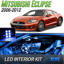 2006-2012 Mitsubishi Eclipse Blue LED Lights Interior Kit