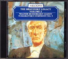 Evgeny MRAVINSKY: TCHAIKOVSKY Symphony No.5 WAGNER Isolde MUSSORGSKY LIADOV CD