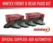 MINTEX FRONT AND REAR BRAKE PADS FOR VOLKSWAGEN TOURAN 1.6 TD 90 BHP 2010-
