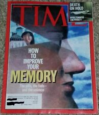 Time Magazine 2000 JUNE 12 Death on Hold How to Improve Your Memory