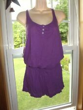 Victoria's Secret dress small racerback shorts built in cover up summer beach