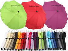 Baby sun UMBRELLA PARASOL buggy pushchair pram stroller shade canopy rain brolly