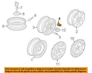 HONDA OEM 94-07 Accord Wheel-Lug Nut 90381SV1981