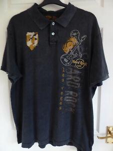 Mens Las vegas Hard Rock Cafe Polo Shirt, size XL