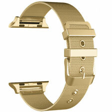 New Milanese Metal Bracelet Strap Band For Apple Watch Series 5 4 3 2 1 iwatch