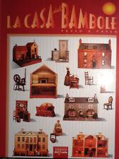 LA CASA DELLE BAMBOLE PASSO PASSO VOLUME I EDIZIONI DEL PRADO AA/415