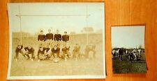 1926 BOYS FOOTBALL TEAM WESTWOOD NJ HIGH SCHOOL Antique Photographs padded pants