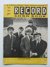 THE ROLLING STONES RECORD Song Book 1964 ROLLING STONES RECORD répertoire 1964