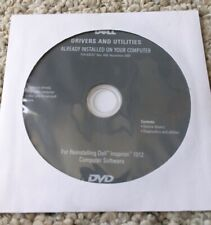 Dell Inspiron 1012 laptop Drivers , diagnostic and Utilities DVD software disk