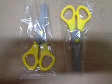 Kids Plastic Scissors Office School Supplies Cutting Scissor New - Quantity 2