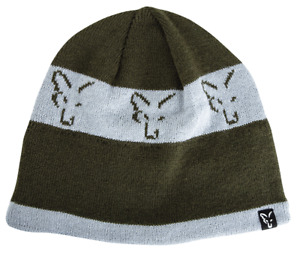 Fox NEW Green and Silver Beanie Hat
