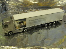 ** Herpa 294621 MB Actros LH Curtain Canvas MB Profi Training 1:87 HO Scale