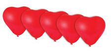 5 X 26cm ballons coeur rouge St Valentin Valentines amour décoration forme Love
