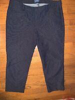 Old Navy Harper Mid Rise Navy Checker Dot Jeans Women's Size 16 Regular