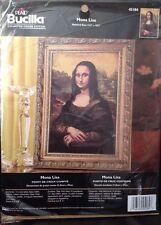 Plaid Bucilla Mona Lisa Da Vinci Counted Cross Stitch Kit 45184 12.5 x 18.5 NIP