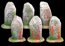 Bloody Chaos Standing Stones Set Warhammer Modular Wargame Terrain AoS Objective