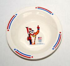 Vintage Bowl Tony Tiger 1992 Olympics Melmac Cereal Bowl Kelloggs Sponsor