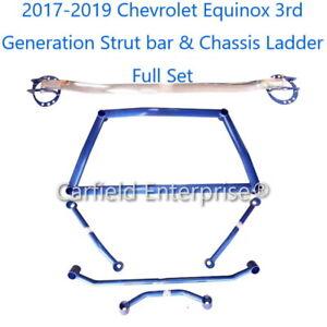 2018-2021 Chevrolet Holden Equinox 3rd Gen Strut Tower Bar Brace Chassis Ladder