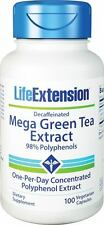Mega Green Tea Extract (decaffeinated) - Life Extension - 100 Veggie Capsules