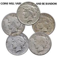 New listing 1922-1935 Random Date Peace Silver Dollar $1 Coin - Cull - 90% Silver Sku32871
