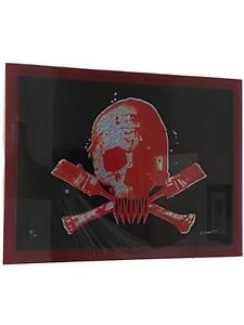 Paul  insect Skull  Editioned  artwork