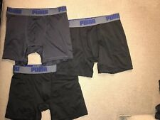 Mens Puma Fitted Base Layer Shorts Small S Lot Of 3