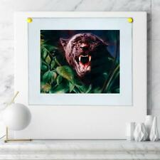"8""x10""Black Panther Poster HD Canvas Print Painting Home Decor Wall Art Pictures"