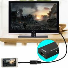 Micro USB To HDMI 1080P HD Audio Video Cable for HDTV Converter Adapter Black
