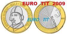 LA  COMMEMORATIVE   PIECE DE    3 €   SLOVENIE  2009          DISPONIBLE