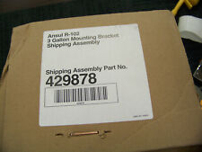 Ansul R-102 3 Gallon Mounting Bracket Shipping Assembly 429878 New