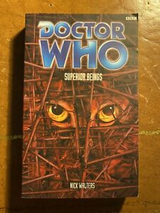 Doctor Who Superior Beings Nick Walters Past Doctor Adventures PDA