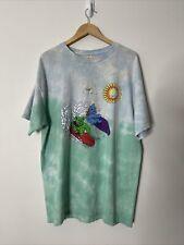 New listing Vintage 1998 Grateful Dead T Shirt Tie Dye Surf Bear Tee Tour Concert 90s XL