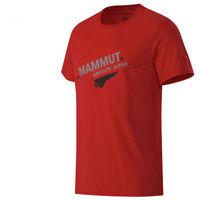 Mammut Peaks T-Shirt Klettern Wandern Bouldern Bio-Baumwolle UVP 49,95