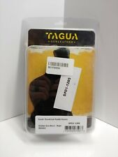 Tagua SPD1-1205 RH Black Leather Suede Thumbreak Paddle Holster For Kimber Solo