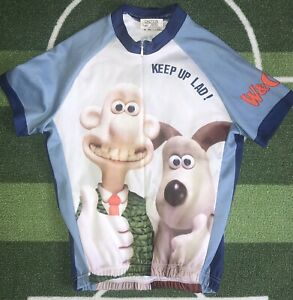 Wallace And Gromet Childs Cycling Jersey Shirt