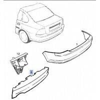 Genuine Opel / Vauxhall Vectra 1996-2002 Impact Absorber rear bumper 90508360