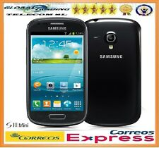 SAMSUNG GALAXY S3 MINI i8190 / i8190N NEGRO LIBRE 8GB BLACK TELEFONO MOVIL