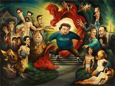 Knowledge is Good. A Tribute to Animal House Giclée Unframed Print