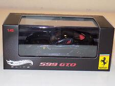 1/43 Mattell Hot Wheels 2010 Street Ferrari 599 GTO in Black NEVER OPENED