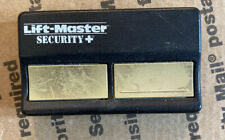 Liftmaster Security Plus Remote Control 2 Button Garage Door Opener *Tested*