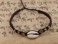 Bracelet brésilien amitié fil tresse perles de coquillage cauris-BB749-FS5A