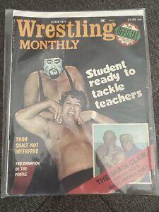 Wrestling Monthly Magazine June 1977 - Baron Von Raschke