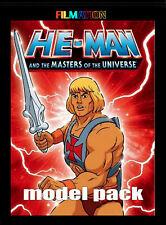 HE-MAN  MODEL SHEET BOOK - FILMATION