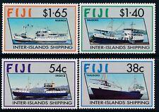 1992 FIJI INTER-ISLAND SHIPPING SET OF 4 FINE MINT MUH/MNH